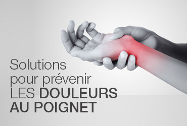 prevention douleurs au poignet
